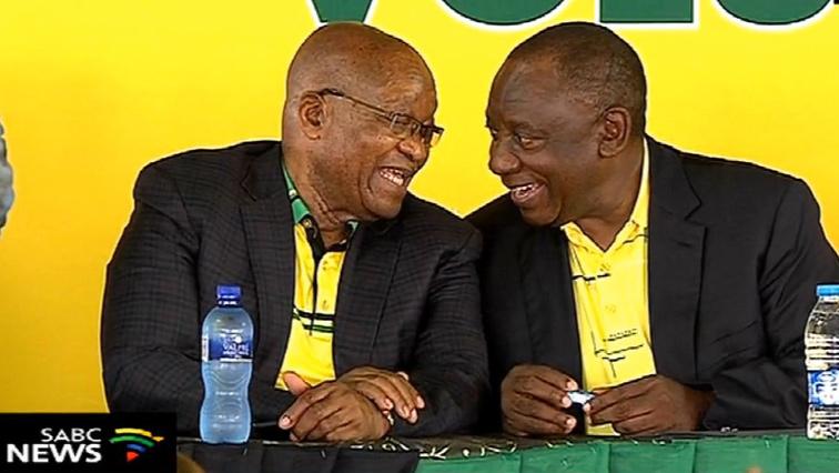 Zuma and President Ramaphosa