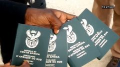 Four South African passports