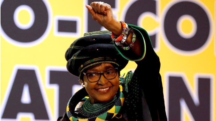 Late Winnie Madikizela-Mandela