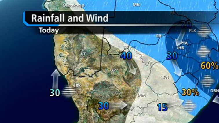 Weather Map South Africa Today.More Rainfall Expected Sabc News Breaking News Special