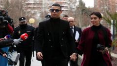 Christiano Ronaldo and Georgina Rodriguez