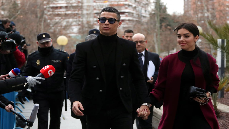 Christiano Ronaldo and Georgina Rodriguez