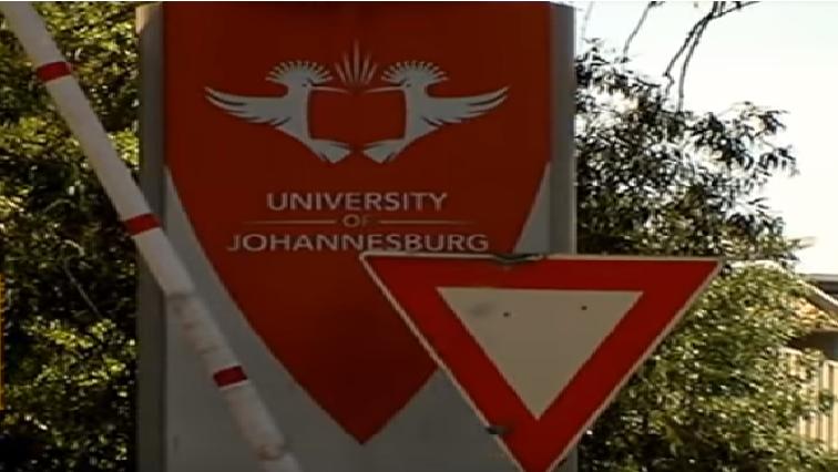 University of Johannesburg signage