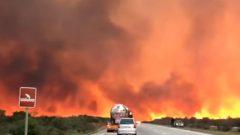Pringle Bay fire