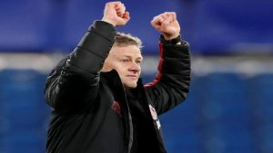 Ole Gunnar Solskjaer Reuters 300x169 - Man United's Solskjaer eyes Cup final after win at Chelsea