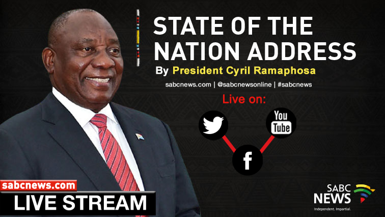 Watch Sona Build Up Sabc News Breaking News Special Reports