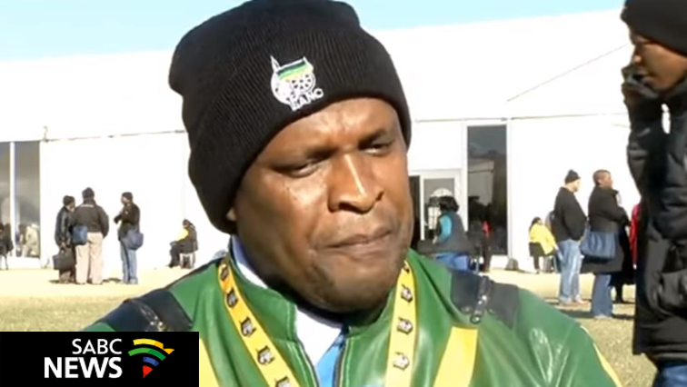 ANC Secretary -General in Northern Cape Deshi Ngxanga