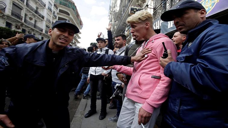 Algeria student protest
