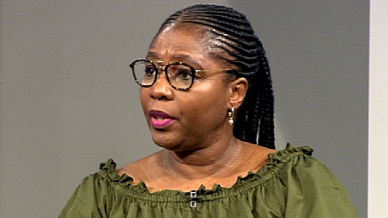 Minister of Public Service & Administration Ayanda Dlodlo.