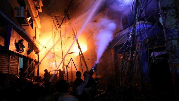 Bangladeshi fire.