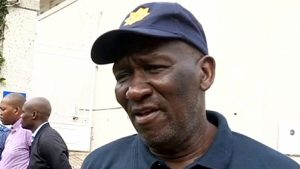 SABC News Bheki Cele 300x169 - Police allowed to use deadly force when under attack: Cele