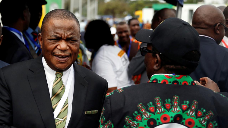 Zimbabwe's vice president receiving treatment in India
