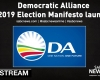 WATCH: DA Manifesto launch