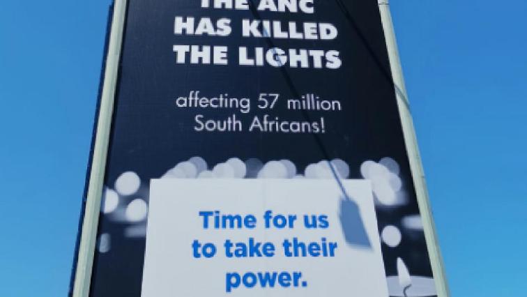 DA new billboard.
