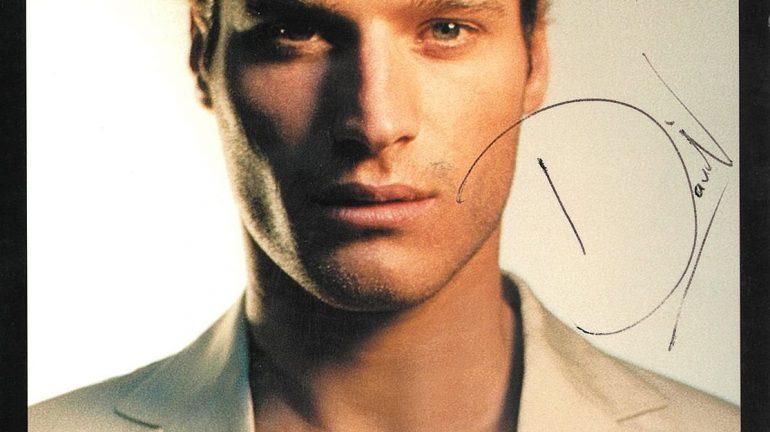 SA's first male model David Miller.