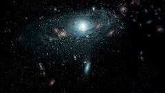 A picture of galaxy