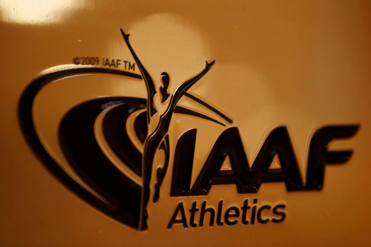 FILE PHOTO: The International Association of Athletics Federations (IAAF) headquarters in Monaco, January 14, 2016