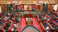 Kenyan Parliament sitting