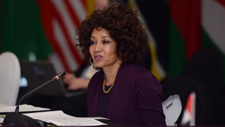 International Relations and Cooperation Minister, Lindiwe Sisulu
