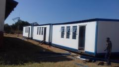 Makangwane High School container classrooms