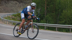 Mark Beaumont cycling