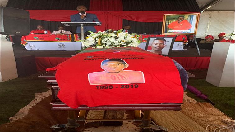 Mlungisi Madonsela's funeral