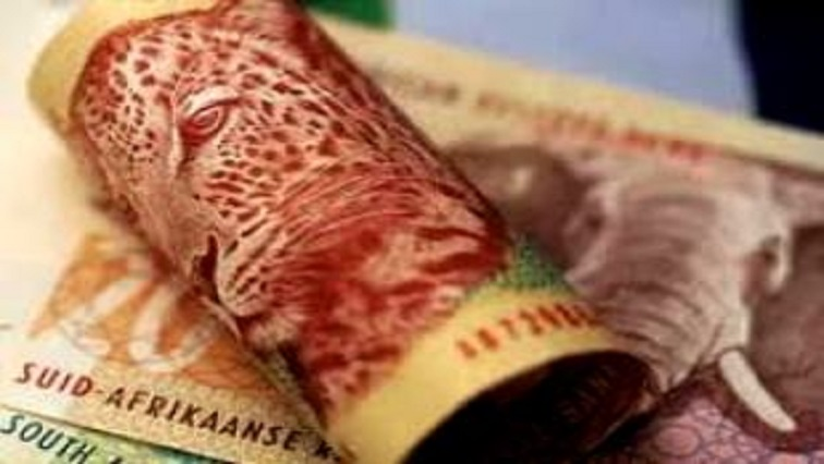R200 note folded