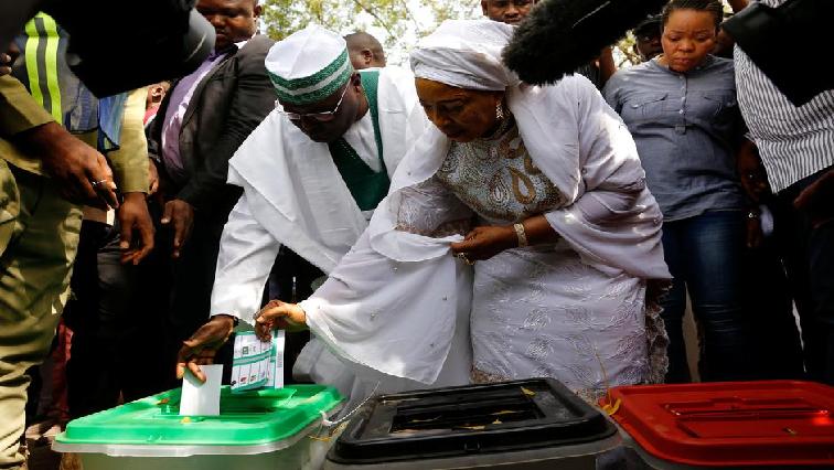 Nigeria elections.