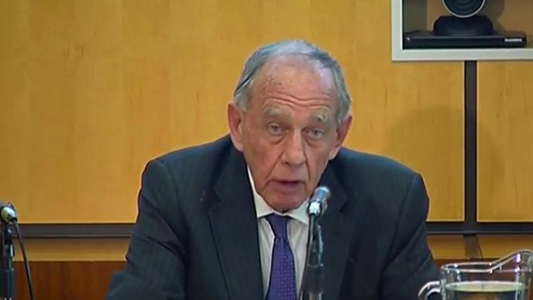 Retired Judge Robert Nugent