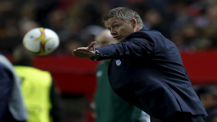Man United's Ole Gunnar Solskjaer.