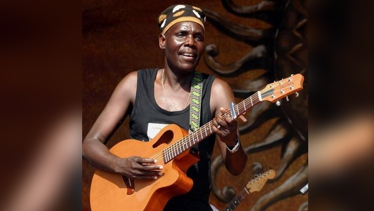 Late music icon Oliver Mtukudzi.