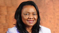 The Chairperson of Parliament Portfolio Committee on Communications Professor Hlengiwe Mkhize