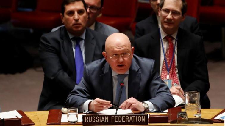 Russian Ambassador Vassily Nebenzia