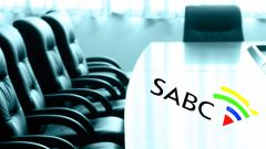 Chairs with SABC logo
