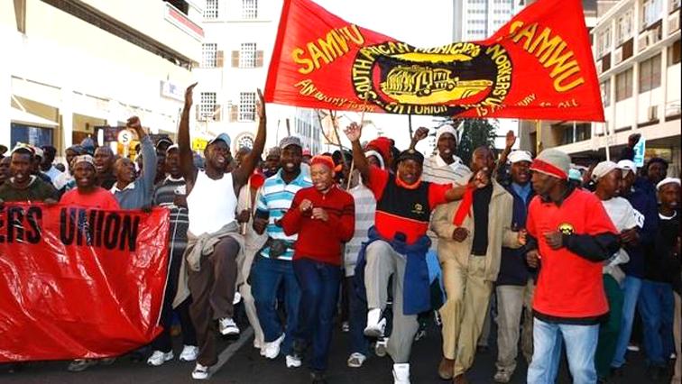 SABC News SAMWU - Durban Samwu members back at work