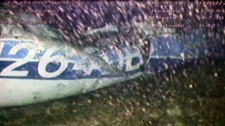 Sala Plane Wreckage