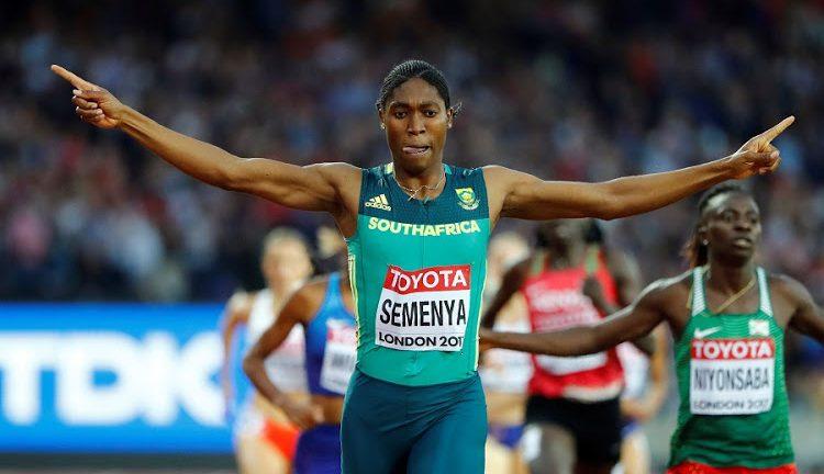 Caster Semenya running