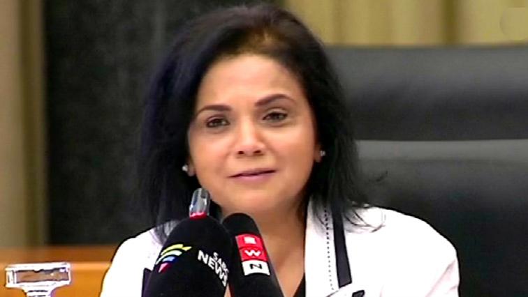 National Director of Public Prosecutions (NDPP) advocate Shamila Batohi.