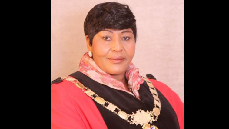 Sol Plaatje Municipality Speaker Elizabeth Johnson.
