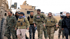 Syrian and US troops