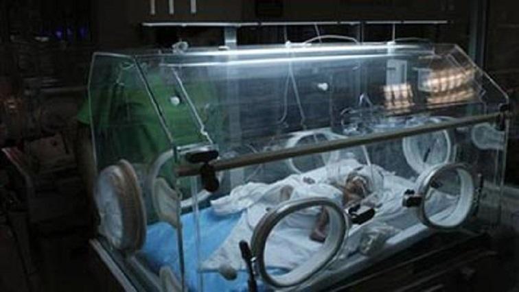 Babies in an incubator