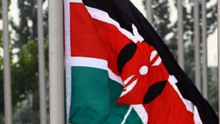 Kenya's Flag.
