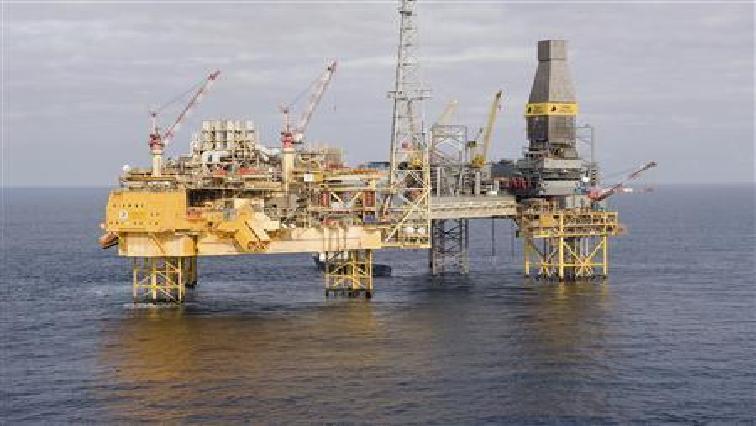 Oil exploration drill.