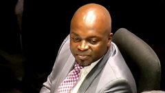Outgoing Tshwane Executive Mayor Solly Msimanga.
