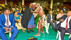 Ntombela and his great-grandparent