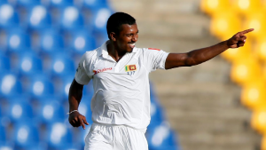 SABC News  Vishwa Fernando Reuters 300x169 - Proteas bowled out for 222 on day One