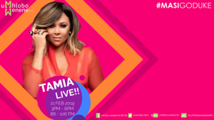 Tamia Youtube Banner 300x169 - WATCH: Tamia live on Umhlobo Wenene FM