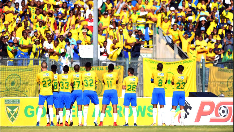 Mamelodi Sundowns players