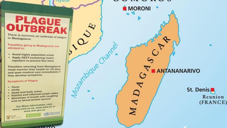 Plague Outbreak map