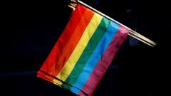 The rainbow flag, commonly known as the gay pride flag